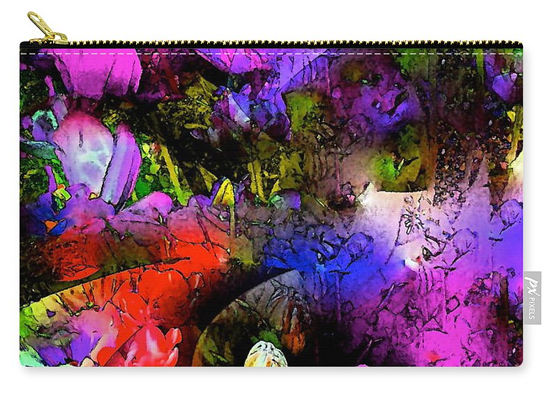Abstract Carry-all Pouch featuring the photograph Abstract 252 by Pamela Cooper