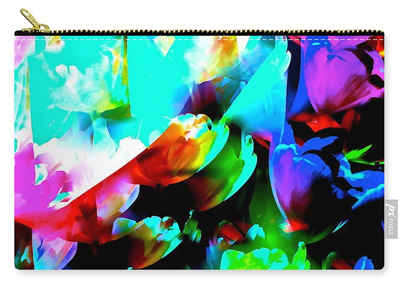 Abstract Carry-all Pouch featuring the photograph Abstract 253 by Pamela Cooper