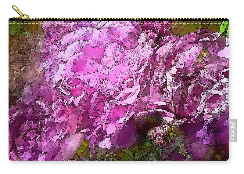 Abstract Carry-all Pouch featuring the photograph Abstract 274 by Pamela Cooper