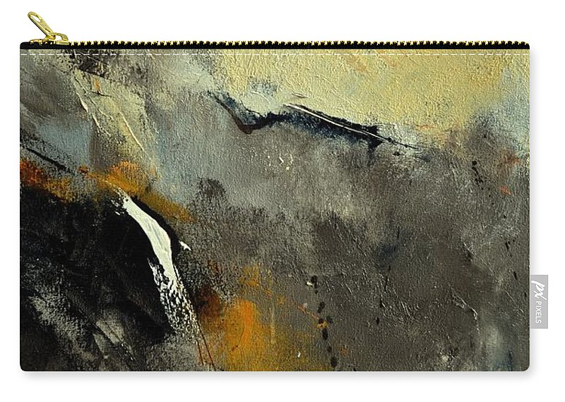 Abstract Carry-all Pouch featuring the painting Abstract 68210191 by Pol Ledent