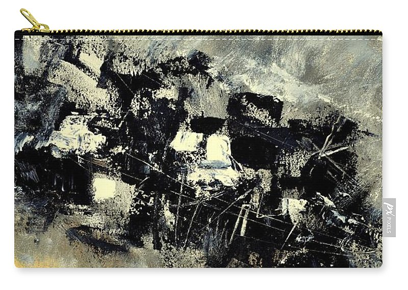 Abstract Carry-all Pouch featuring the painting Abstract 69211120 by Pol Ledent