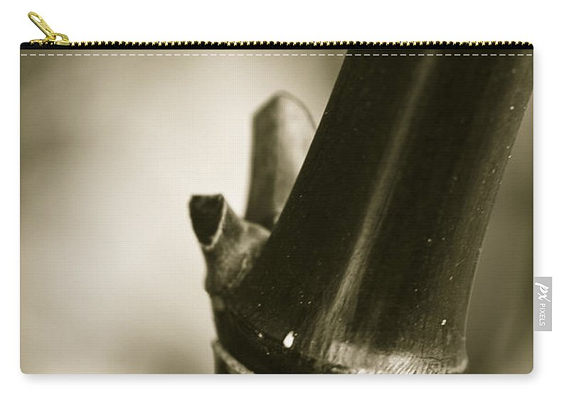 Clare Bambers Carry-all Pouch featuring the photograph Abstract Bamboo by Clare Bambers