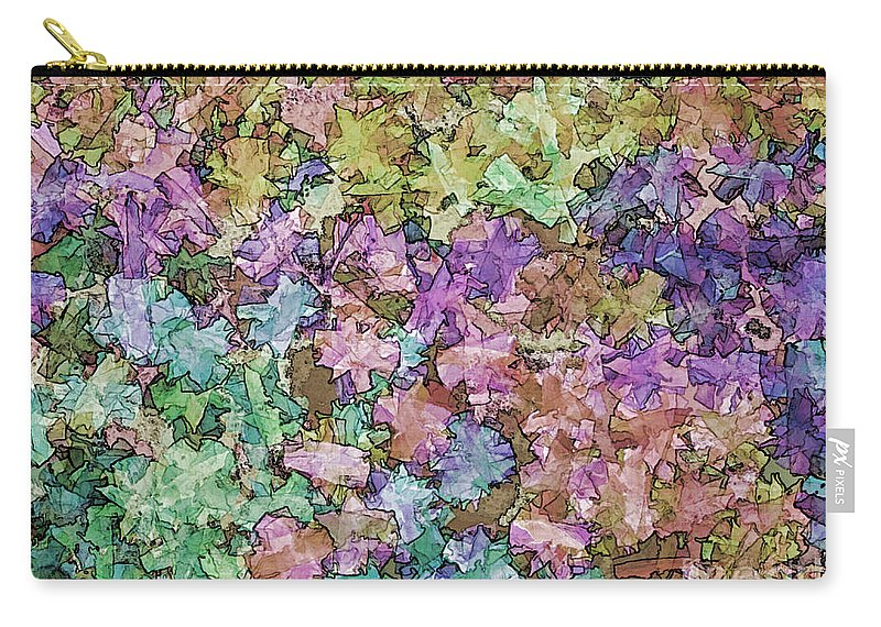 Abstract Carry-all Pouch featuring the photograph Abstract Colors Pale by Debbie Portwood