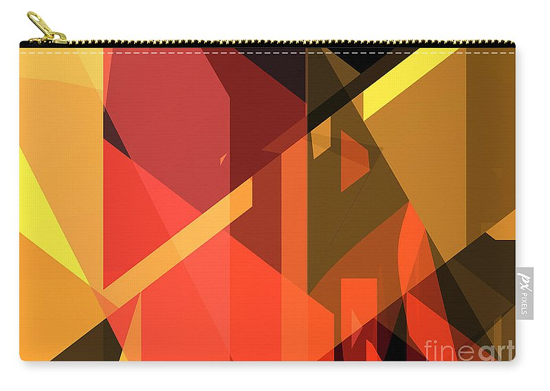 Abstract Carry-all Pouch featuring the photograph Abstract Sin 31 by Russell Kightley