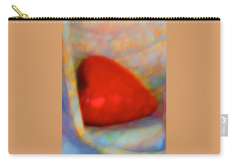 Abstract Carry-all Pouch featuring the digital art Abundant Love by Richard Laeton