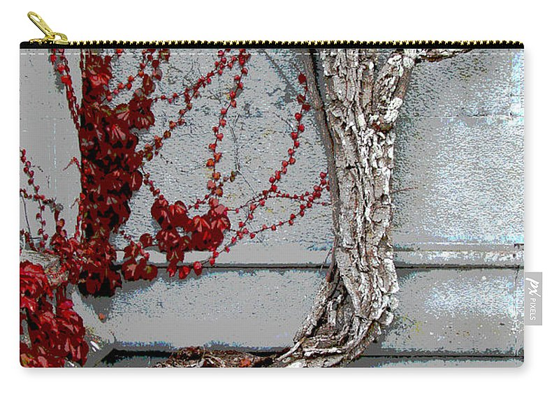 Castle Carry-all Pouch featuring the photograph Adare Ivy by Charlie and Norma Brock