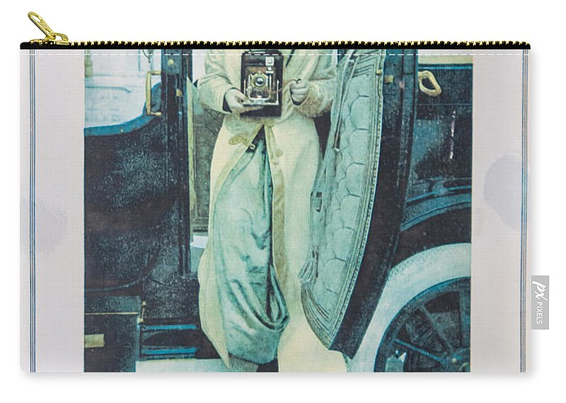 Guy Whiteley Photography Carry-all Pouch featuring the photograph Advertisement by Guy Whiteley