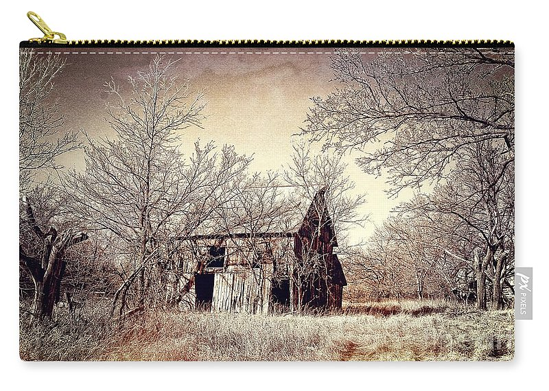 Barn Carry-all Pouch featuring the photograph After The Harvest by Sharlotte Hughes