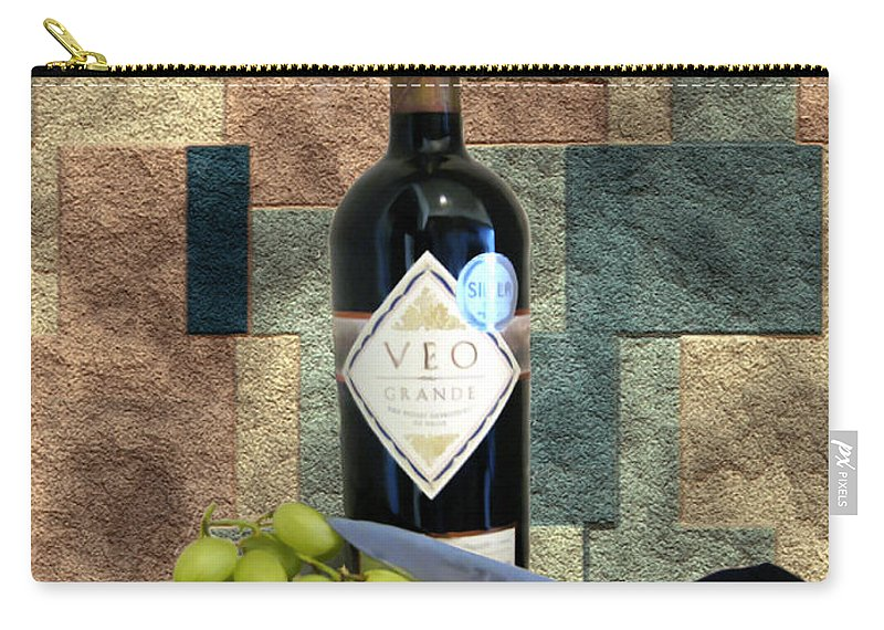 Wine Carry-all Pouch featuring the photograph Afternoon Delights by Kurt Van Wagner