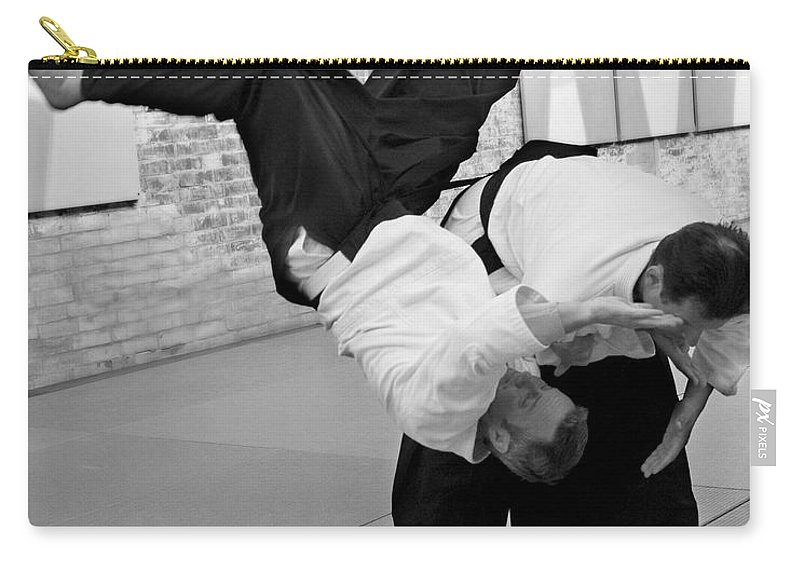 Fine Art Carry-all Pouch featuring the photograph Aikido by Frederic A Reinecke
