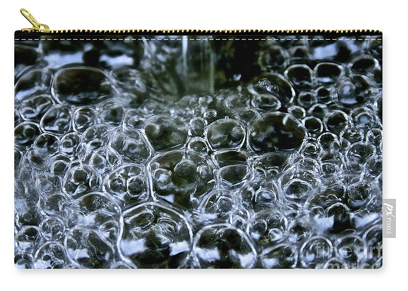 Outdoors Carry-all Pouch featuring the photograph Air And Water by Susan Herber