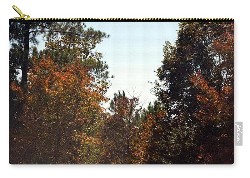 Alabama Mountainside October 2012 Carry-all Pouch featuring the photograph Alabama Mountainside October 2012 by Maria Urso