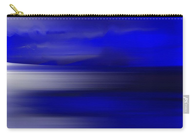 Alaska Carry-all Pouch featuring the painting Alaskan Afternoon by George Pedro