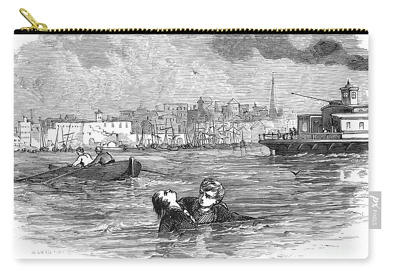 19th Century Carry-all Pouch featuring the photograph Alger: Ragged Dick by Granger