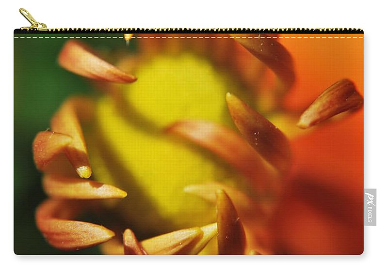 Yhun Suarez Carry-all Pouch featuring the photograph Alien Flower by Yhun Suarez