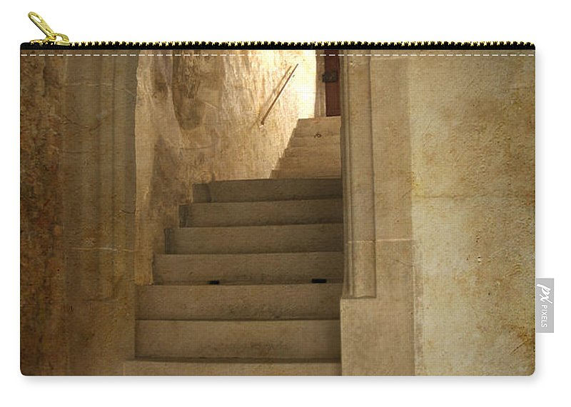 Vertical_format Carry-all Pouch featuring the photograph All Experience Is An Arch by Heiko Koehrer-Wagner