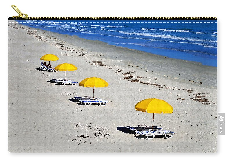 Art Carry-all Pouch featuring the painting All Mine by David Lee Thompson