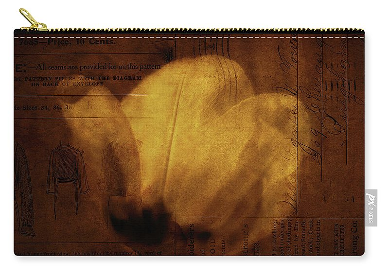 Seems Carry-all Pouch featuring the photograph All Seems Provided For by Rebecca Sherman
