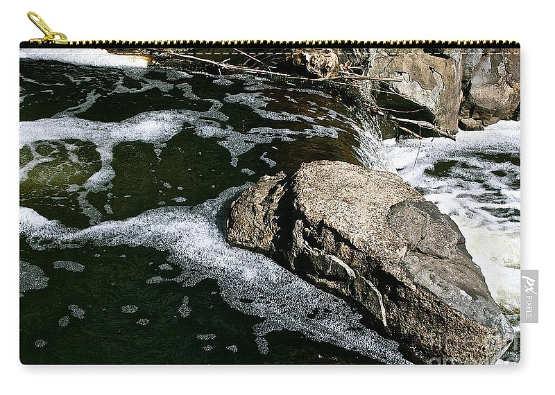 Outdoors Carry-all Pouch featuring the photograph Almost Over by Susan Herber