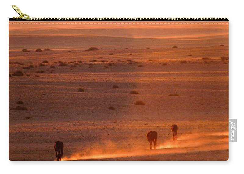 Carry-all Pouch featuring the photograph Almost There by Alistair Lyne
