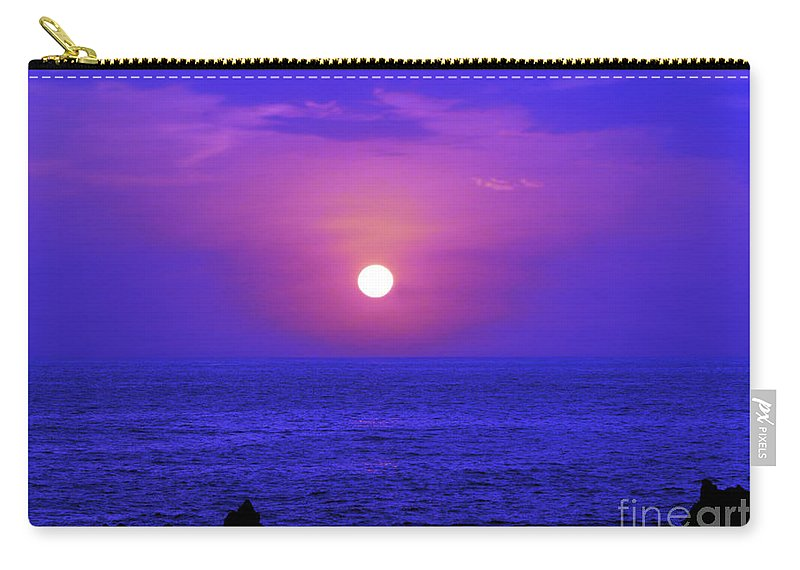 Fine Art Photography Carry-all Pouch featuring the photograph Aloha Iv by Patricia Griffin Brett