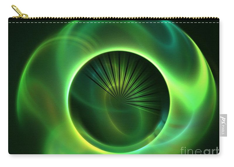 Apophysis Carry-all Pouch featuring the digital art Alpine by Kim Sy Ok