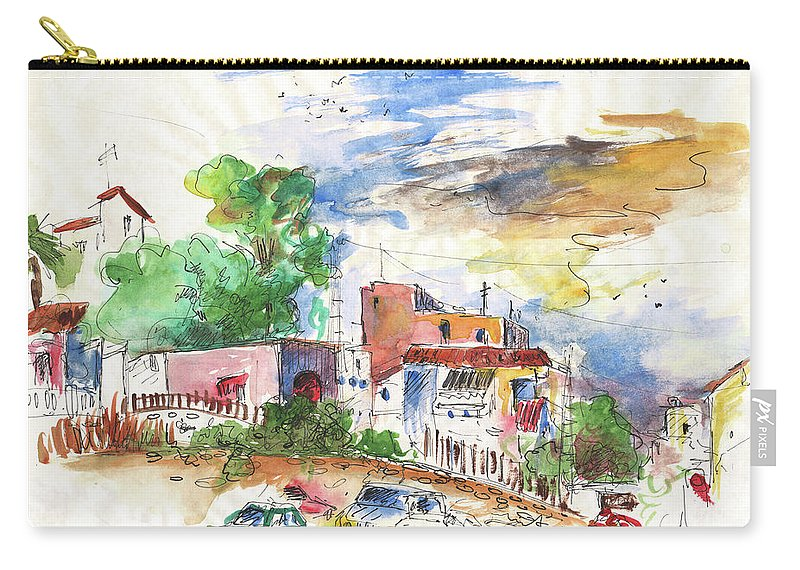 Europe Carry-all Pouch featuring the painting Altea 05 by Miki De Goodaboom