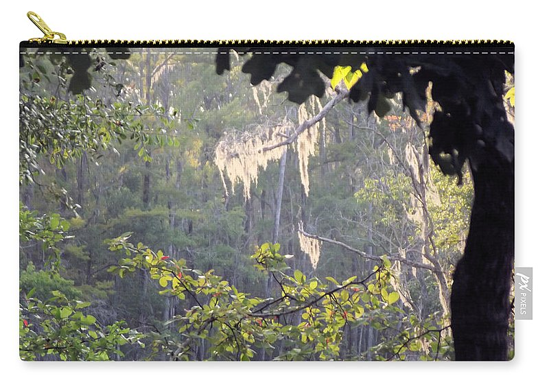 Moss Carry-all Pouch featuring the photograph Always A Bright Spot by Jennifer Stockman