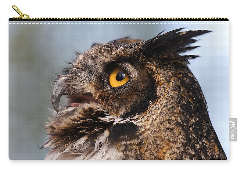 Doug Lloyd Carry-all Pouch featuring the photograph Always Alert by Doug Lloyd
