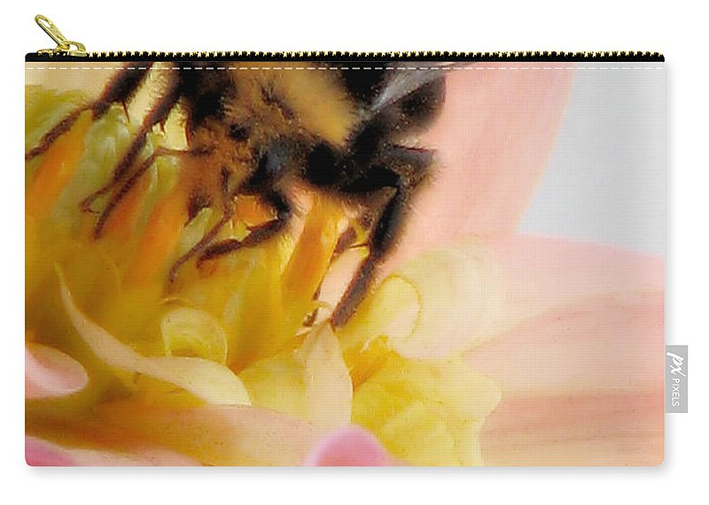 Bee Carry-all Pouch featuring the photograph Ambrosia by Rory Sagner