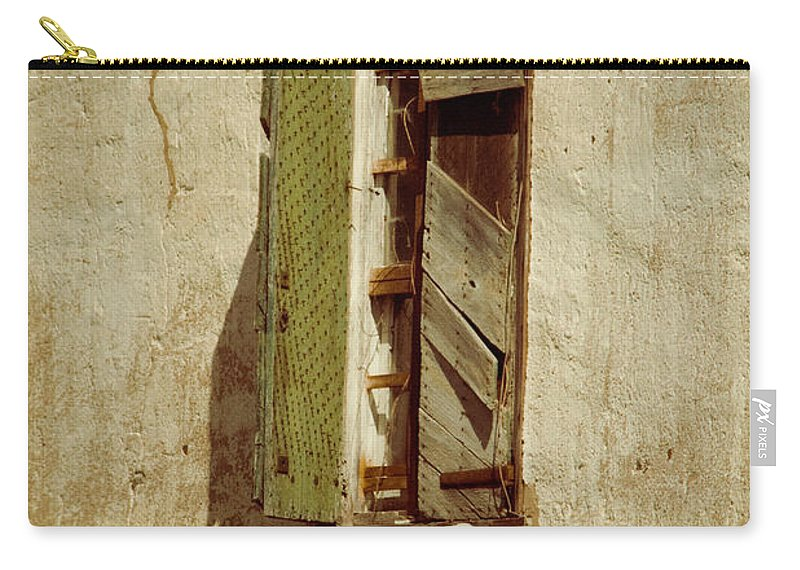 Window Carry-all Pouch featuring the photograph Amelia's Window by Trish Tritz