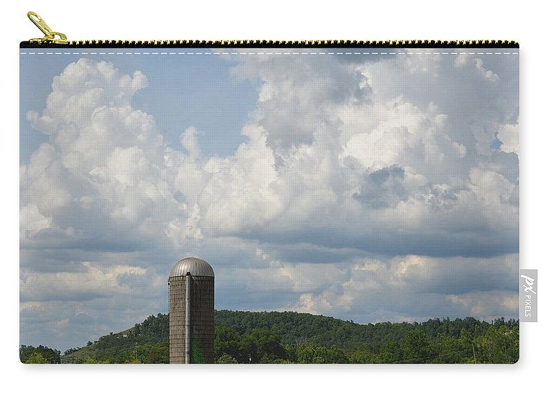 American Carry-all Pouch featuring the photograph American Country Life by Maria Urso