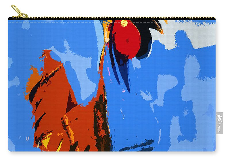 Art Carry-all Pouch featuring the painting American Icon by David Lee Thompson