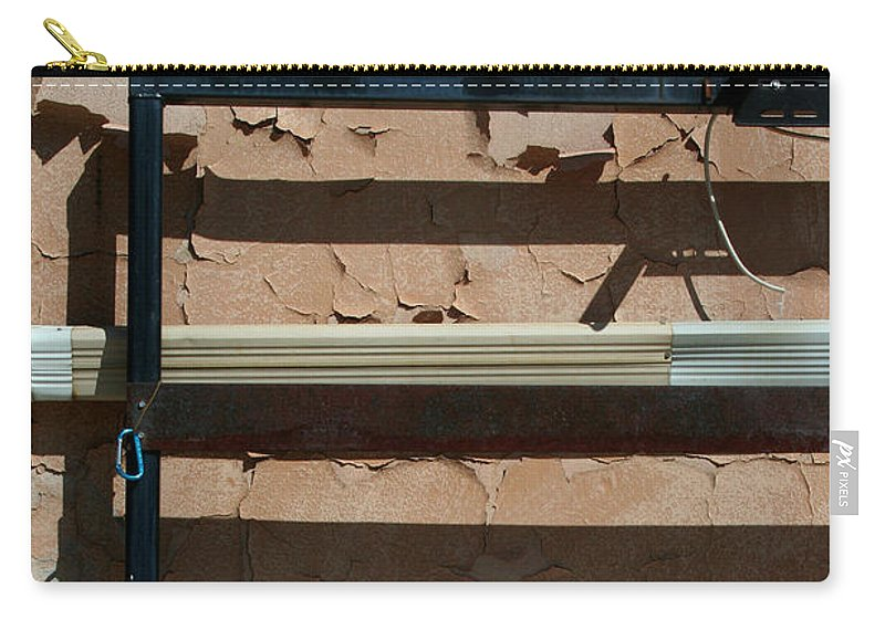 Wall Carry-all Pouch featuring the photograph An Abstracted Wall by Ric Bascobert