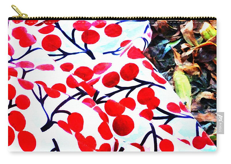 Picnic Carry-all Pouch featuring the photograph An Autumn Picnic by Steve Taylor