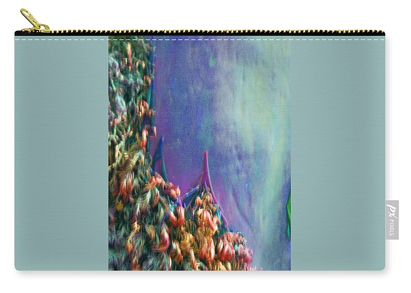 Nature Carry-all Pouch featuring the digital art Ancesters by Richard Laeton