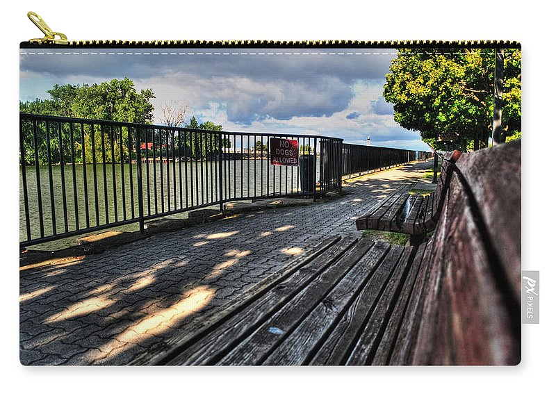Carry-all Pouch featuring the photograph And Yet Still I Wait by Michael Frank Jr