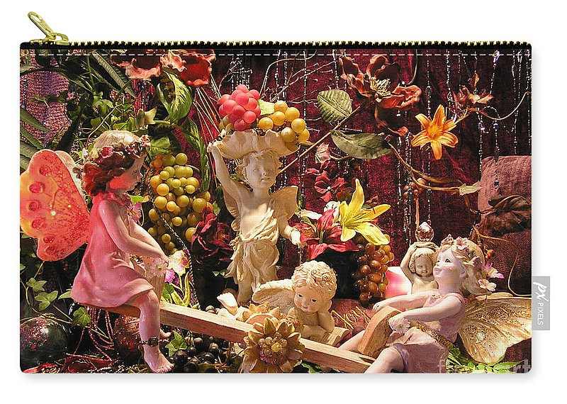 Angel Carry-all Pouch featuring the photograph Angel Love by Anthony Wilkening