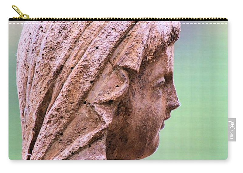 Angel Carry-all Pouch featuring the photograph Angelface by Maria Urso