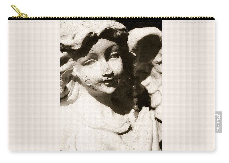 Angel Carry-all Pouch featuring the photograph Angels Among Us by Michele Nelson