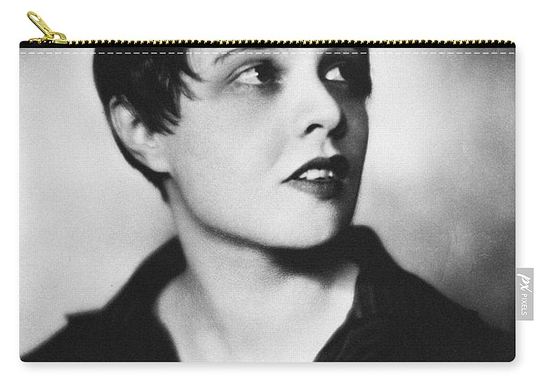 1920s Carry-all Pouch featuring the photograph Anita Loos (1893-1981) by Granger