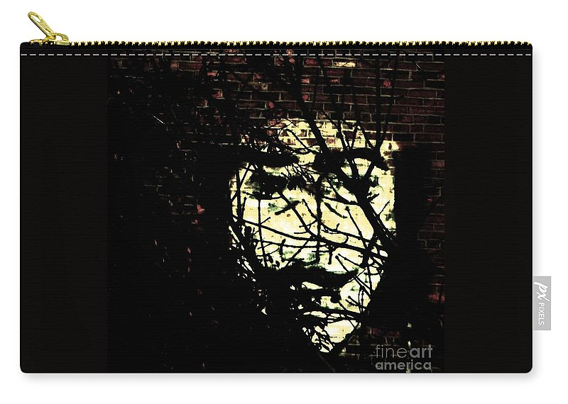 Graffiti Carry-all Pouch featuring the photograph Anonymous by Chris Berry