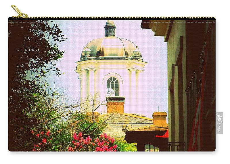 Church Carry-all Pouch featuring the photograph Another Charleston Church by Samantha Glaze