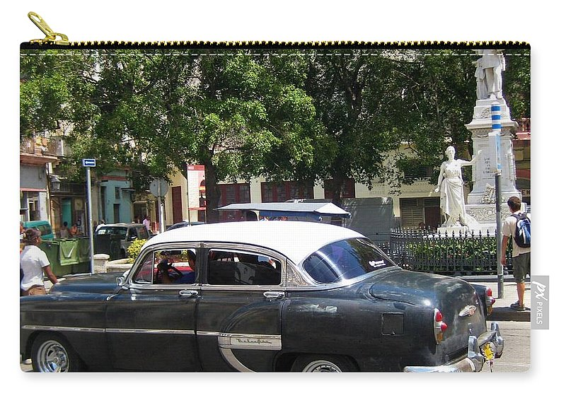 Car Carry-all Pouch featuring the photograph Another Classic Car by John Malone