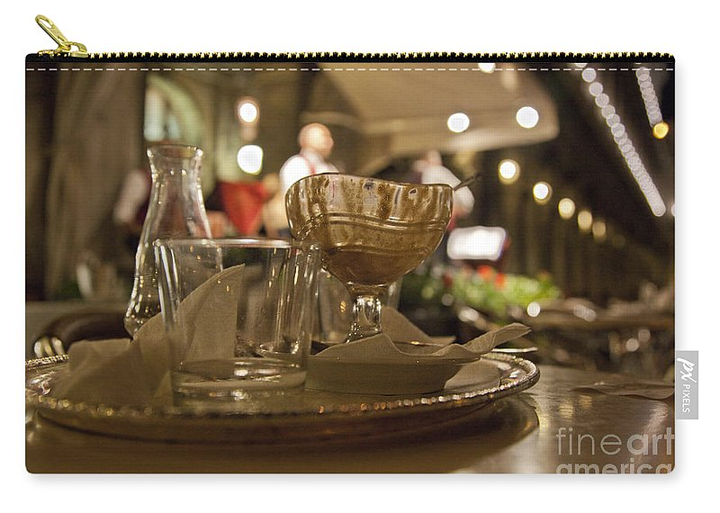Still Life Carry-all Pouch featuring the photograph Another Gelato Please by Madeline Ellis