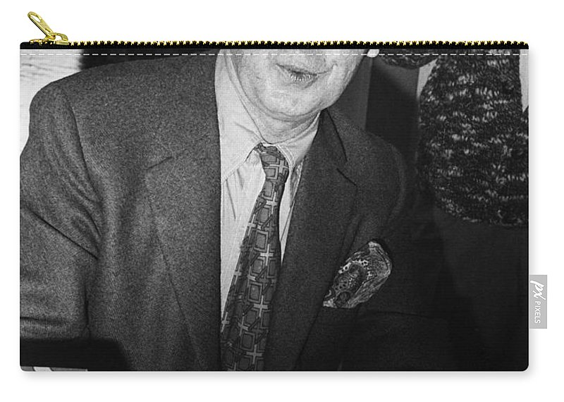 1971 Carry-all Pouch featuring the photograph Anthony Burgess (1917-1993) by Granger
