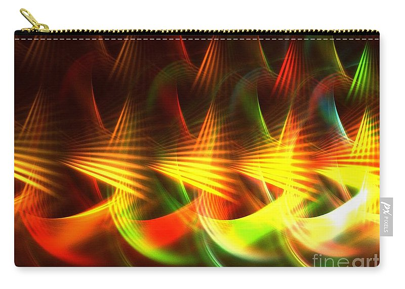 Apophysis Carry-all Pouch featuring the digital art Apex by Kim Sy Ok