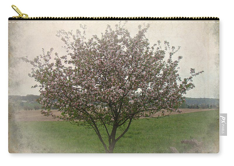 Apple Carry-all Pouch featuring the photograph Apple Blossoms by Mother Nature