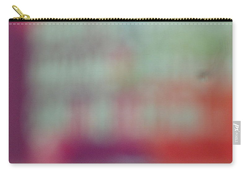 Aquamarine Carry-all Pouch featuring the photograph Aquapinkredpurple by Alexandra Masson