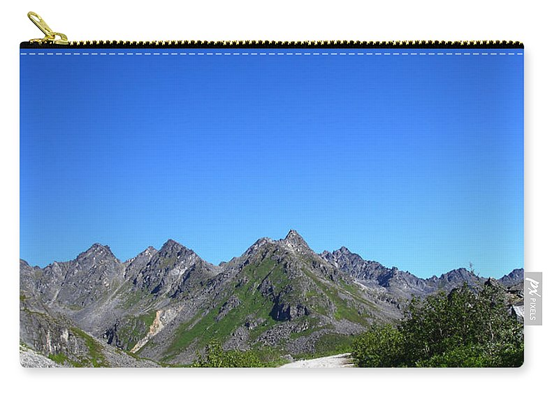 Doug Lloyd Carry-all Pouch featuring the photograph Archangel Road by Doug Lloyd